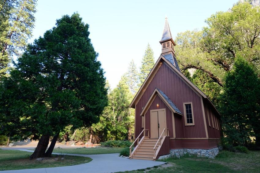 Yosemite Chapel, Yosemite Valley.