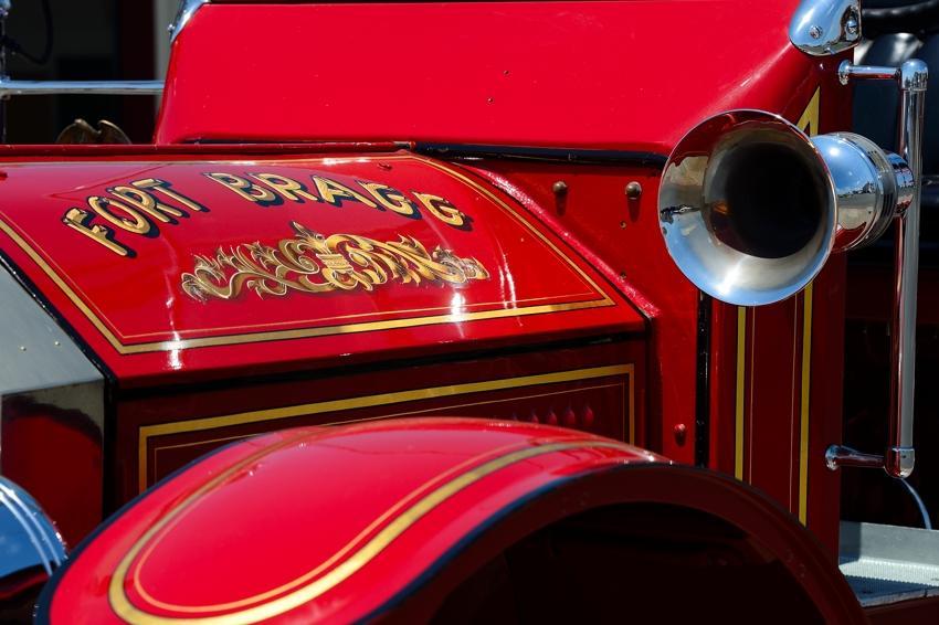 Fort Bragg, Fire Collection, California Pacific Coast.
