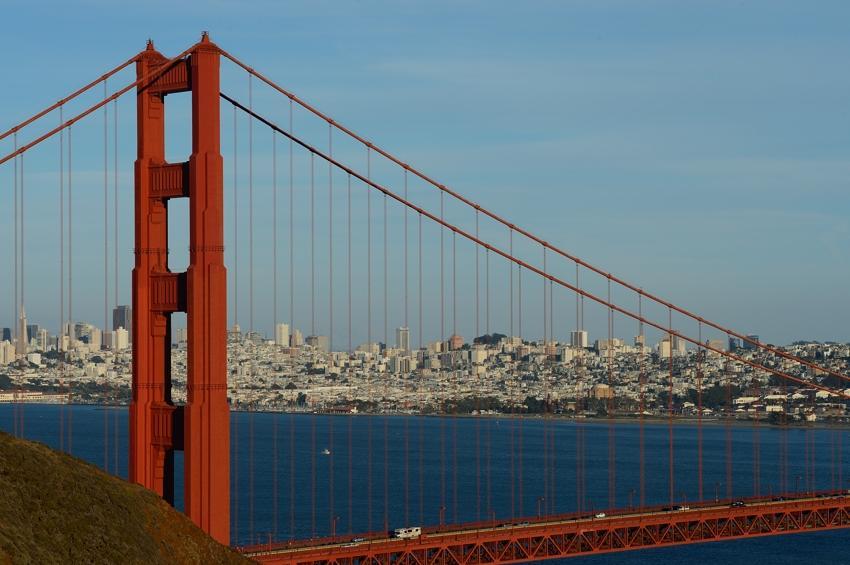 Baie de San Francisco.